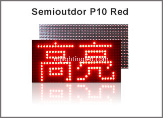 Chine Module ROUGE des pixels 32*16 P10 LED des modules 320*160mm de l'IMMERSION LED du panneau P10 de Semioutdoor LED fournisseur