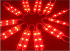 Module 5050, 0.72W 12V, couleur rouge, IP65 de 3 LED pour le luminose de Lettere