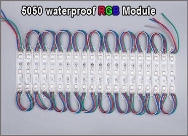 Les 5050 moduels multicolores de haute qualité de module de RVB LED imperméabilisent l'éclairage lumineux de signe de publicité extérieure