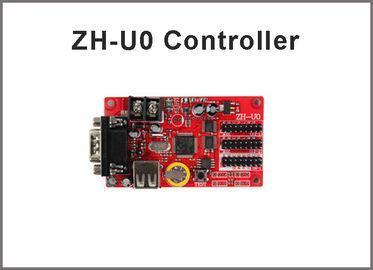 le contrôleur de 5V ZH-U0 a mené les cartes ordre programmables menées par port de modèle d'affichage de la carte RS232+USB