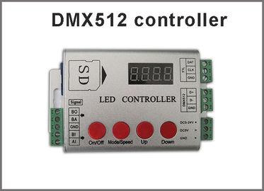 Contrôleur de DMX512 RVB LED pour la lumière programmable menée polychrome